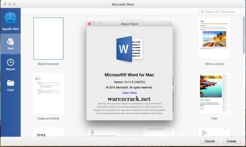 mac office 2016 15.15 crack Free Download