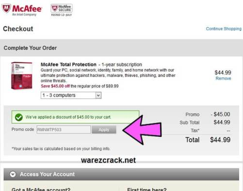 Mcafee Livesafe Promo Code 2016 Coupon Product Key Free