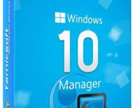 Yamicsoft Windows 10 Manager Crack 1.1.6 with Patch Download