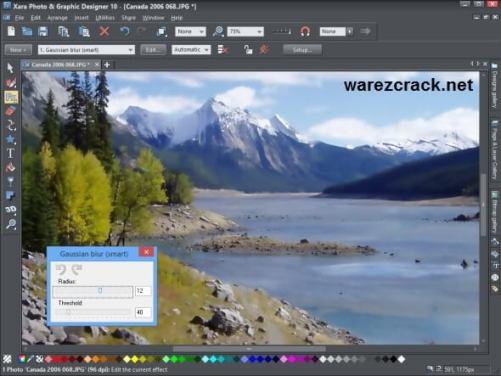 Xara Photo & Graphic Designer 10 Crack