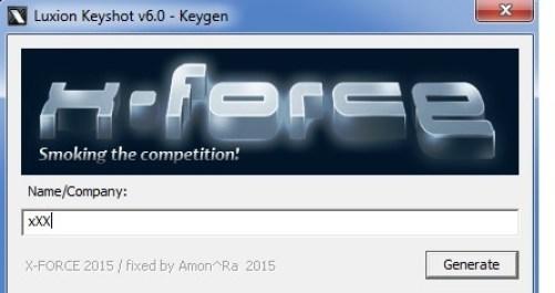 Luxion KeyShot Pro 6.1 Keygen