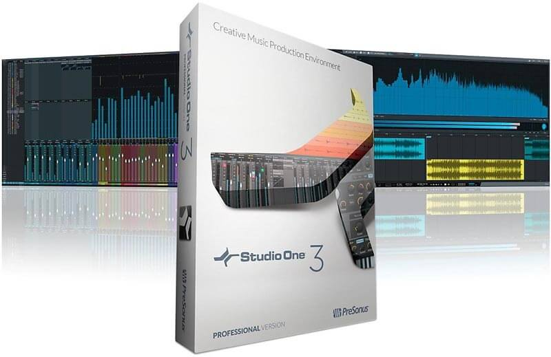 Presonus Studio One 3 Professional Crack