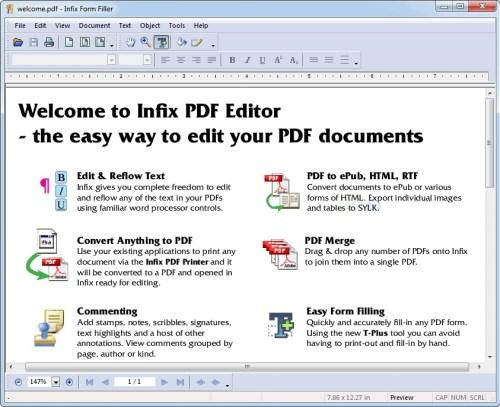 Infix PDF Editor Full Crack