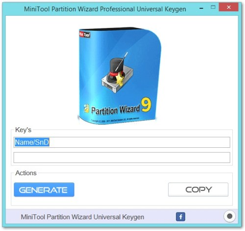 MiniTool Partition Wizard Professional Edition Key