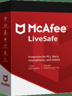 McAfee Livesafe 2019 Crack