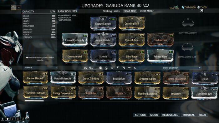 Garuda Builds Guide
