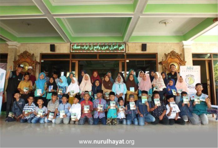 Penyaluran Beasiswa Yatim NH Semarang