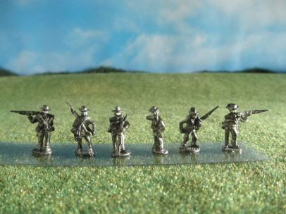 15mm ACW Infantry: ACW18 Soft Hat, Combat