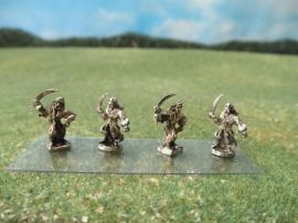 15mm French Colonials: LFA21 Arab Infantry, Bedouins Charging with Swords