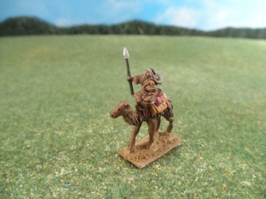 15mm French Colonials: LFA 36 / LFA37 Arab Camelry, Bedoin with Spears