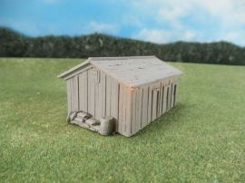 15mm ACW Buildings: TRF307 Stable, Weathered Wood