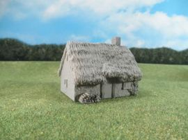 15mm English / European Buildings: TRF356 Cottage with Thatched Roof