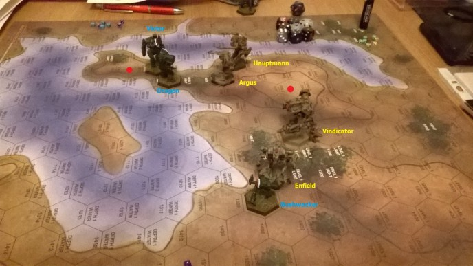 News from the Front #5 - Lance-level Battletech Action