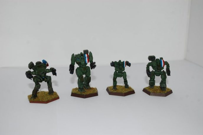 Amassing the Troops #11 - Battletech: 303rd Company - The Battlemechs