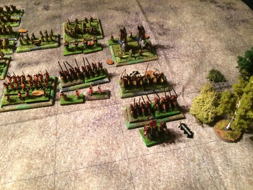 The Roman cataphracts on the far right have failed. They failed to defeat the Peasant Levy twice! They got roughed up by Elephants and smashed by the Persian Cataphract Guard Unit. Disastrous.