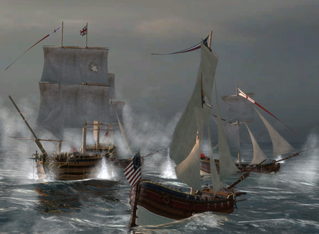 Empire Total War American Ship