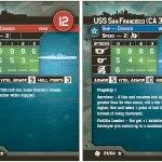 Italy's Zara and USS San Francisco Stat Cards