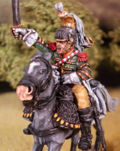 28mm Perry Miniatures Napoleonic French Cuirassier Trumpeter (5th Regiment)