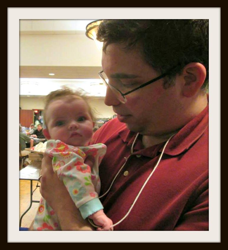 Baby Catherine visits Hanghai.
