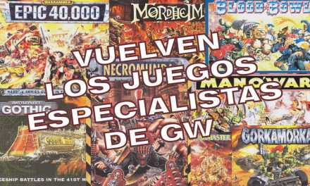 Regresan los Juegos de Especialista de Games Workshop, ¿renace la era dorada?