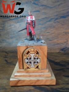 Caballero Templario en una base con ambientación