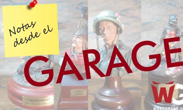 Bases para exhibición de miniaturas y modelos a escala – Notas desde el Garage