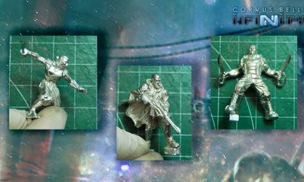 Nuevo sistema de ensamblaje de Corvus Belli (Infinity, Aristeia!)