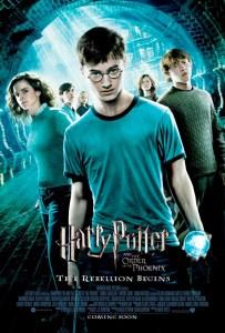 Afiche promocional de la película Harry Potter y la Orden del Fénix