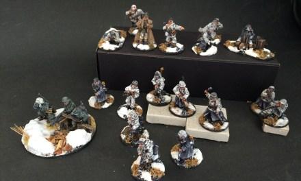 Ejército Alemán de Invierno Segunda Guerra Mundial – Bayonetas en el Garage