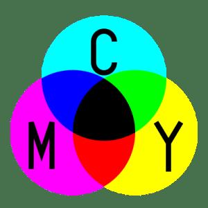 Magenta, Cian y Amarillo, en nuestra Teoría del color, toda la gama de colores conocidos se fundamenta en base a la mezcla de estos tres colores básicos