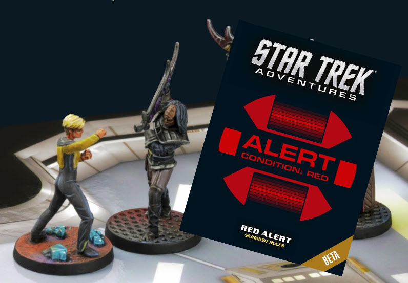 Star Trek Adventures Red Alert Juego De Miniaturas Gratis
