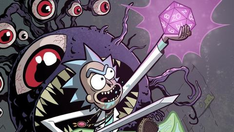 Rick y Morty jugarán Dungeons and Dragons (DnD)