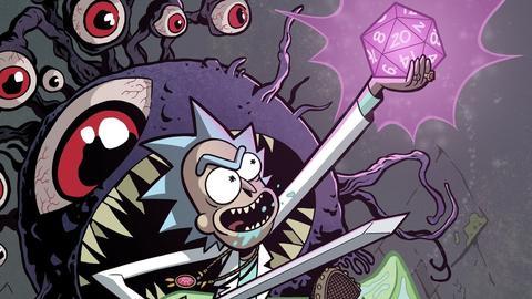 Rick y Morty jugarán Dungeons and Dragons (DnD)