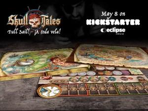 Skull Tales ¡A Toda Vela! Varios Tableros