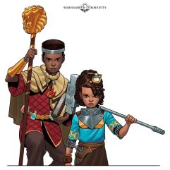 Warhammer Adventures Realm Quest: The City of Lifestone personajes, Elio y Alish