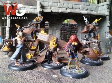 Escuadra del juego de escaramuzas Malifaux