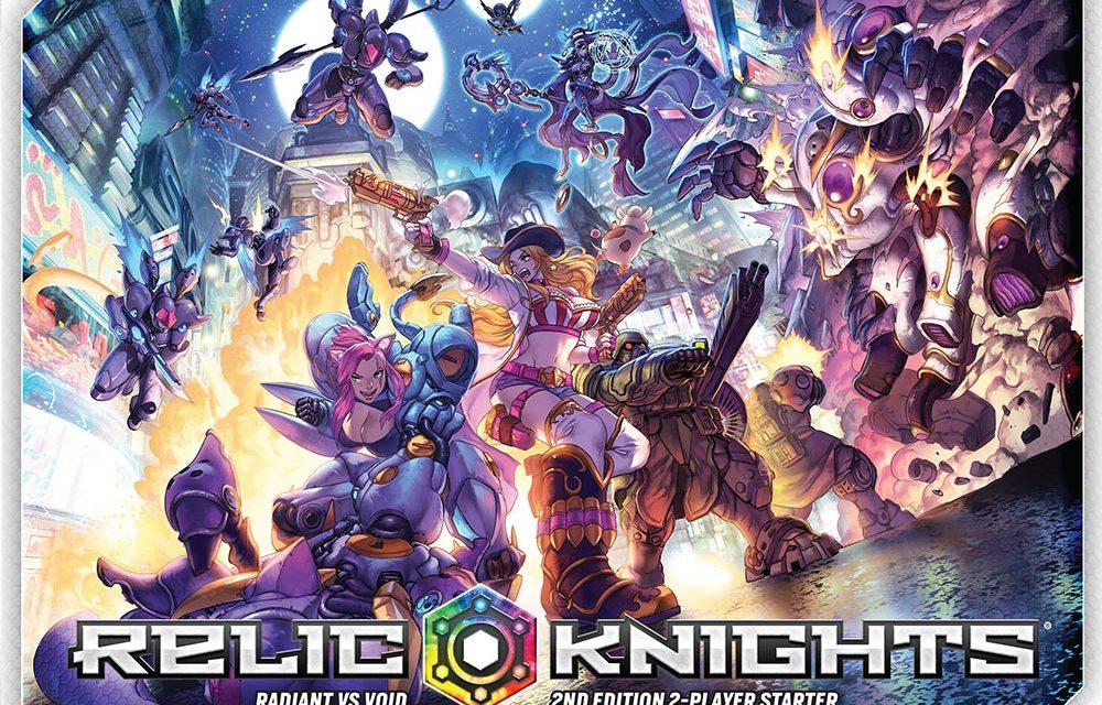 Lanzamiento de Relic Knights segunda edición de Soda Pop Miniatures y Ninja Division