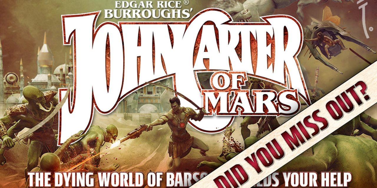 John Carter of Mars Juego de rol (RPG) [Reseña del Preview para mecenas]