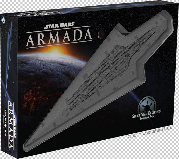 Star Wars: Armada, llega el Super Destructor Imperial clase Executor