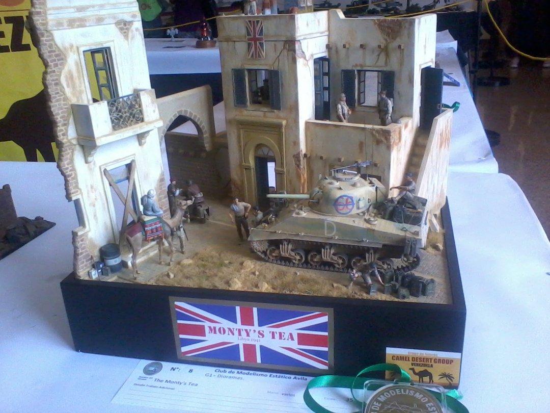 Ganador de Oro en Dioramas en Expo Escala Ávila 2017