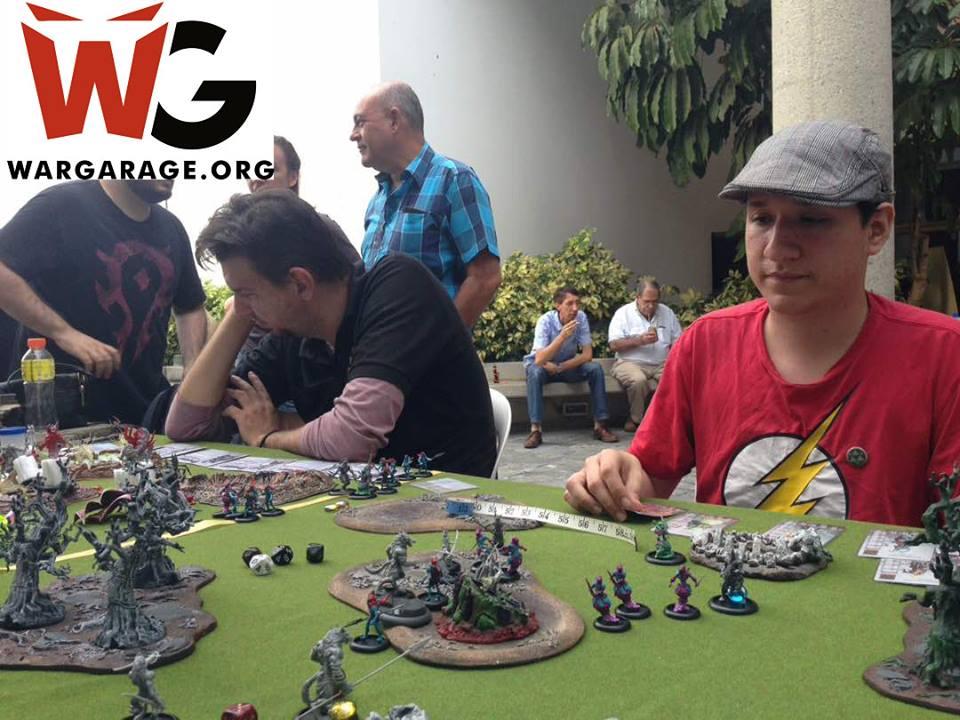 Torneo del wargame de miniaturas Wrath of Kings