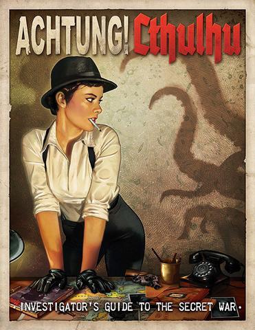 Achtung! Cthulhu Guía de la Guerra Secreta para investigadores