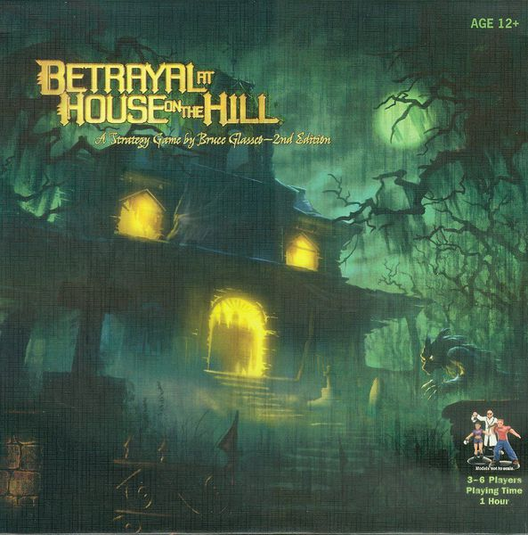 Portada de Betrayal at House on the Hill