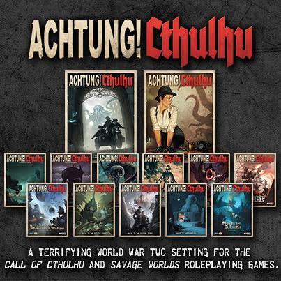 Achtung! Cthulhu el juego de rol de Nazis y Lovecraft tendrá nueva edición sistema 2d20