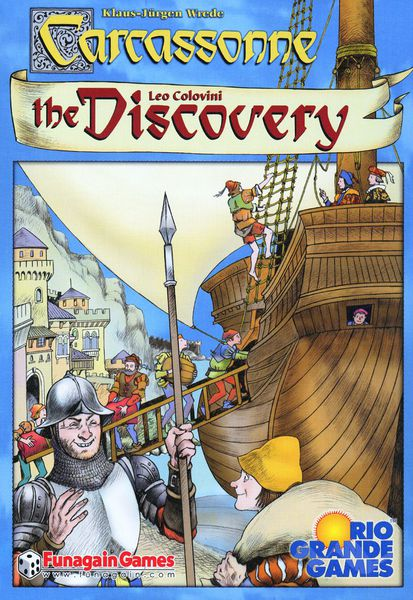 Portada de Carcassonne: The Discovery