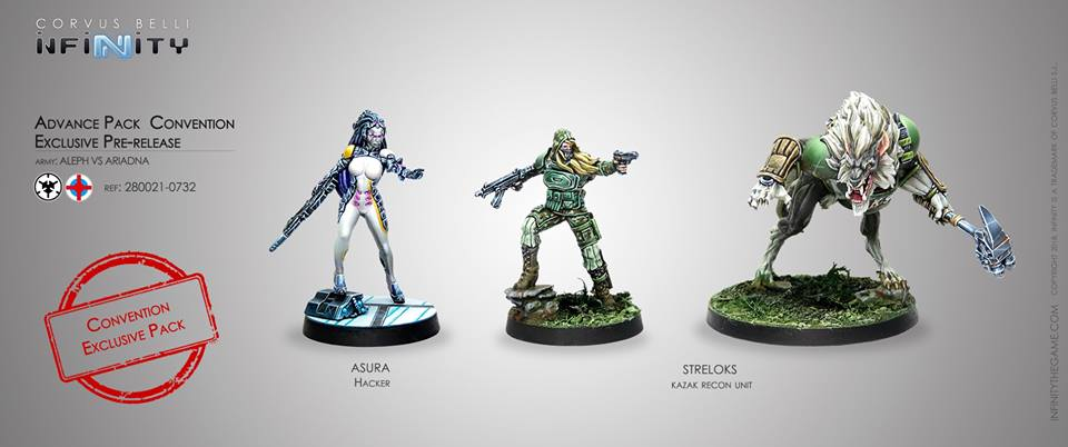 Infinity Operation: Coldfront Advance Pack [Reseña/Análisis]