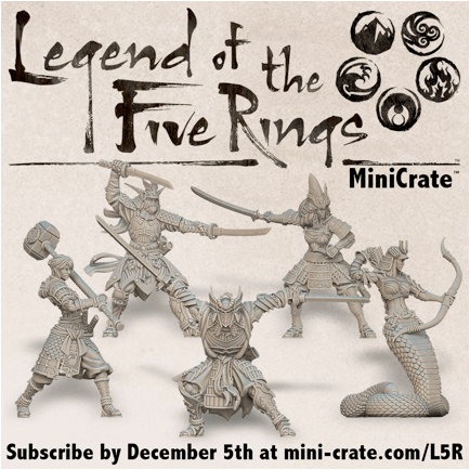 MiniCrate Legend of the Five Rings