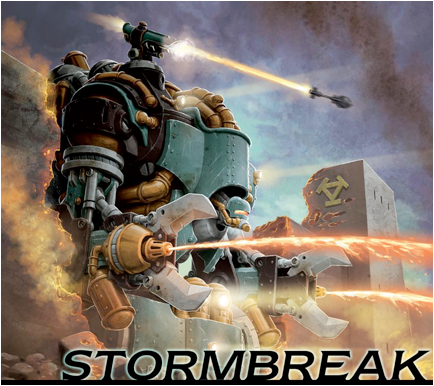 Privateer Press Warmachine/Hordes, portada de Stormbreak Juego Organizado