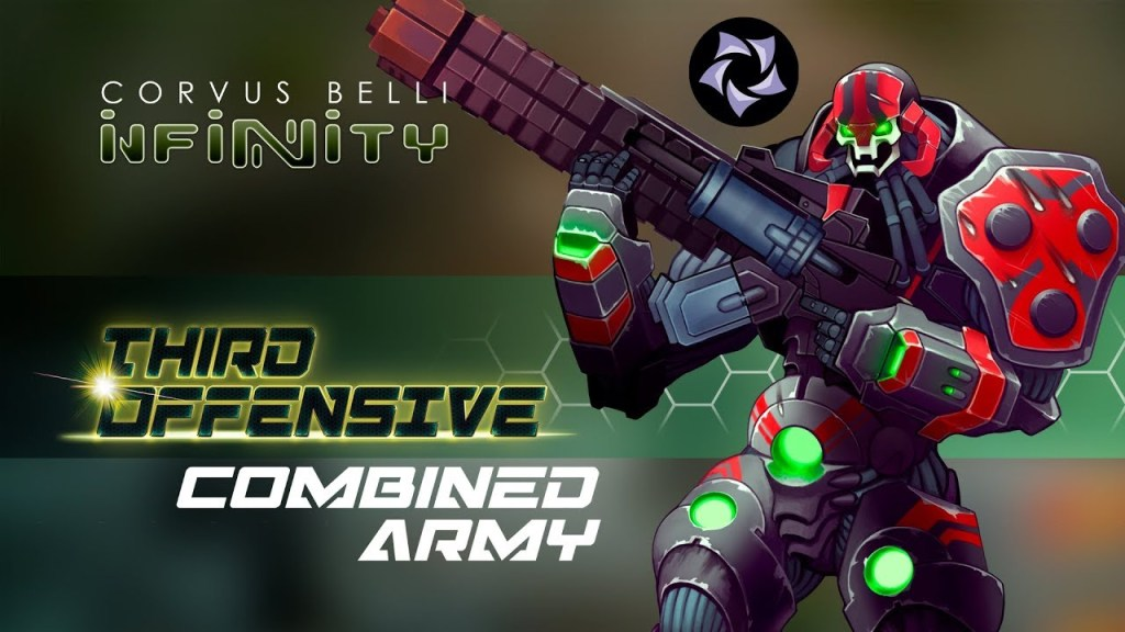 Infinity Tercera Ofensiva Ejército Combinado Arte Conceptual