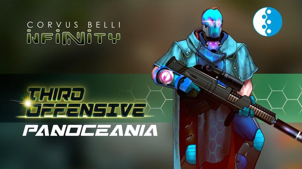 Infinity Tercera Ofensiva PanOceania Varuna Arte Conceptual